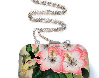 Box Tasje, Box Clutch, Libre, kerstcadeau, valentijngeschenk, verjaardagsgeschenk, geschenk moeder, Woody Ellen tas, vintage roze tasje