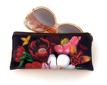 retro bril etui, Glorious, kerstcadeau, bloemen cadeau, valentijngeschenk, cadeau bloemen,verjaardagsgeschenk, geschenk moeder,Woody Ellen