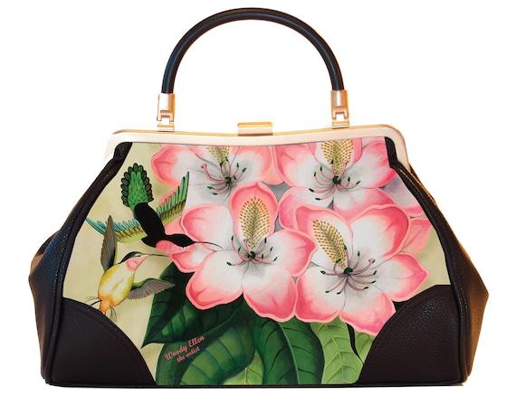 Retro handbag, Vintage handbag, Idda van Munster, gifts for her, gifts for mom, Woody Ellen handbag, christmas gift, Valentine gift ideas