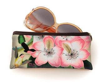 Retro bril etui, Libre, geschenk voor haar, kerstcadeau, valentijngeschenk, verjaardagsgeschenk, geschenk moeder, Woody Ellen tas