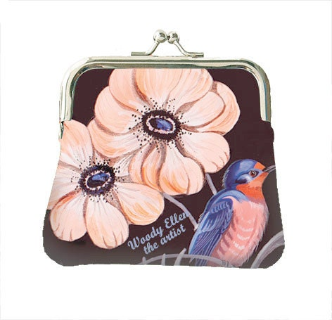 Coin purse,retro purse,Sweet Swallow,christmas,gifts,gifts for her ...