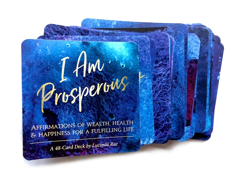 I AM PROSPEROUS: Affirmations of Wealth Health & Happiness image 0