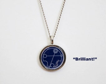 Custom Gallifreyan Necklace