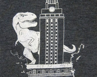 UT-Rex Hand Screen Printed T-Shirt