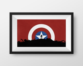 Captain of the Hill - 8 x 15 Print