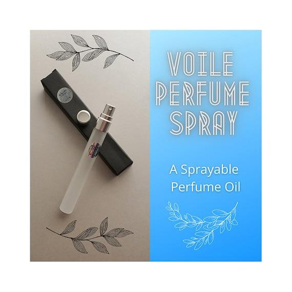Voile Perfume Spray, Sprayable Perfume Oil, Perfume Oil Mist, Body Oil, VdP, EdP, Spray, Perfume Spray, Perfume Mist, Body Spray