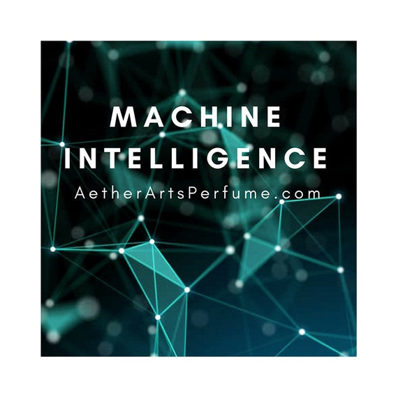Burner Perfume No.9A: Machine Intellignce, a Futuristic, Abstract, Modern Musk, Aether Perfume, Unisex Skin Scent, Fragrance Oil