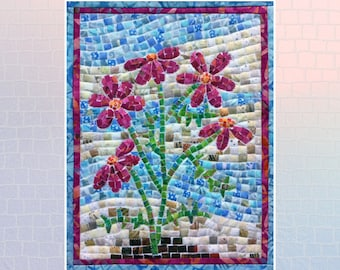 Flower Mini Mosaic Quilt Kit