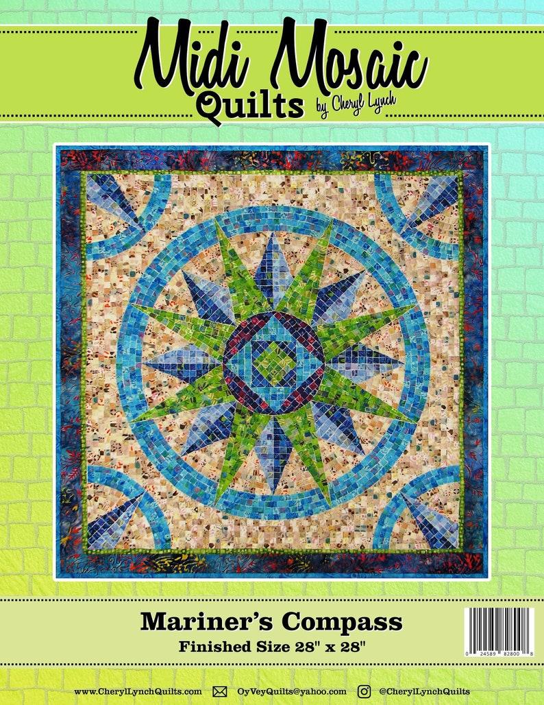 Mariner's Compass Midi Mosaic Pattern image 0