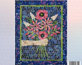 Bouquet Mini Mosaic Quilt Kit
