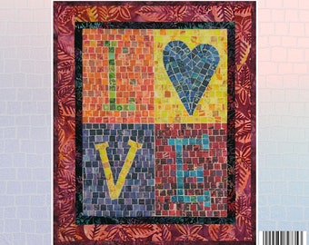 Love Letters Mini Mosaic Quilt Kit