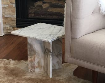 Vintage Marble Coffee Table Hollywood Regency Mid Century Modern Retro  Eames Era