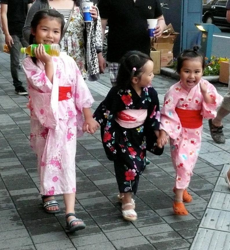 a0989f762 Japanese yukata kimono for 4 year old girl girls walloween | Etsy