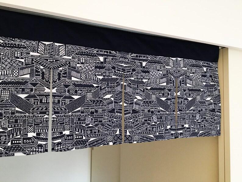 Gordijn Voor Deur : Japanse noren volgorde gemaakt deur gordijn deelvenster etsy