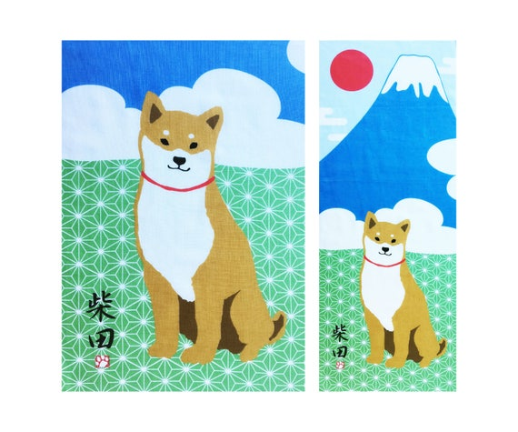 HAMAMONYO Tenugui Book  /'Japanese Moon Phases/' Japanese Hand Towel Book