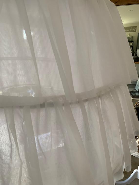 Beautiful vintage hooped petticoat