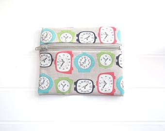 Small purse with watches