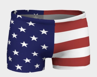 American Flag Shorts - Adult, Teen, Women's