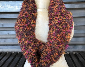 Hand Knit Cowl, Hand Knit Scarf, Hand Knit Infinity, Hand Knit, Cowl, Scarf, Hooded Cowl