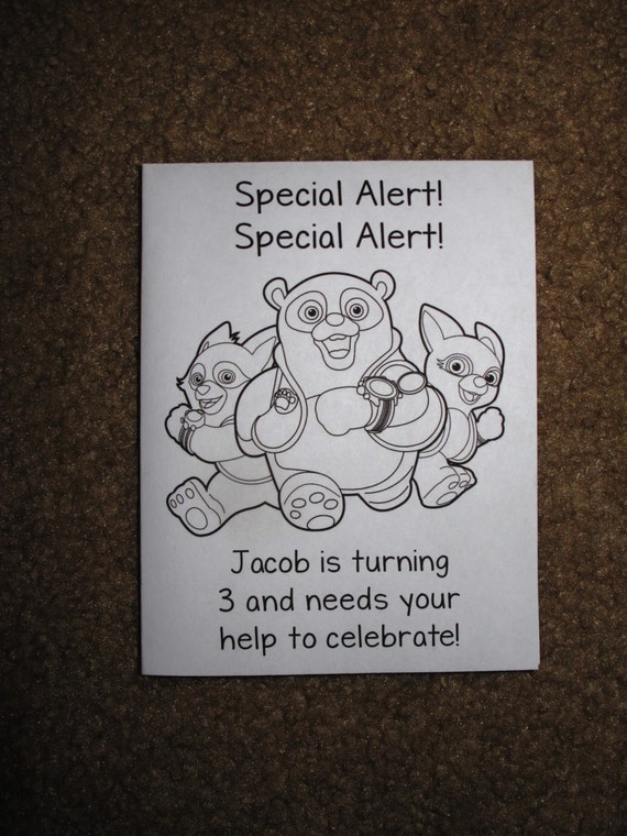 Pdf File Only Special Agent Oso Inspired Personalized Etsy