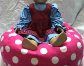Bean Bag Chair for American Girl Doll 3 day priority shipping