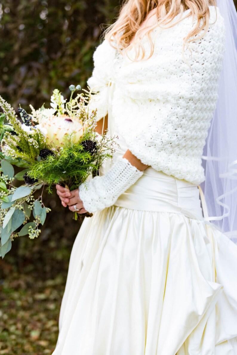 Bridal Gloves, Fingerless Mittens, Ivory Gloves
