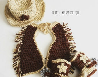 BABY || Cowboy Outfit // Made To Order