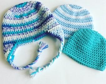Crochet Pattern // Half Double Crochet Beanie // Easy // Written Pattern