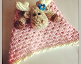 GIRL || Moose Security Blanket // Made To Order