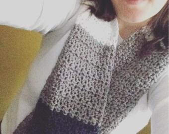 Crochet Pattern // Elizabeth Scarf // Easy // Written Pattern // Women's Scarf