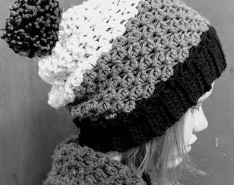 Crochet Pattern // Elizabeth Beanie // Easy // Written Pattern