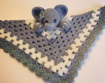 Elephant Lovey // Security Blanket // Made To Order