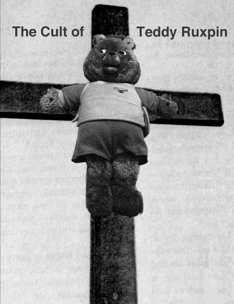 Piltdownlad No. 8.5  The Cult of Teddy Ruxpin image 0