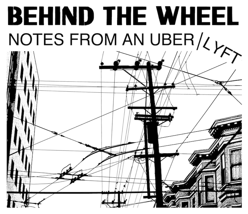 Behind the Wheel 2: Notes from an Uber/Lyft (Digital PDF & ePub Download)
