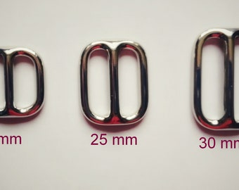 """Triglide 25 mm 1 """"  metal for dog collar and more"""