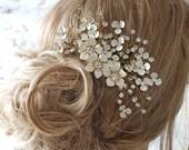 Bridal hair comb, wedding headpiece, bridal headpiece, bridal hair comb, crystal hair comb