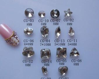 e1b06b16dd Crystal pointback   Etsy