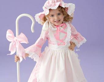 Toddler Handmade Costume / Little Bo Peep Costume / Handmade Fairy Tale Costume / Girls Halloween Costume / Purim Costume / Toddlers Costume  sc 1 st  Etsy & Bo peep costume | Etsy