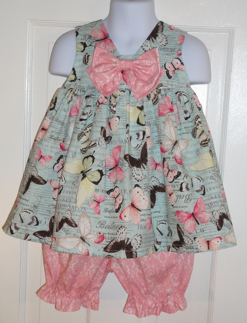 326569883ab Toddler Sundress Outfit Baby Sundress Outfit Handmade Baby