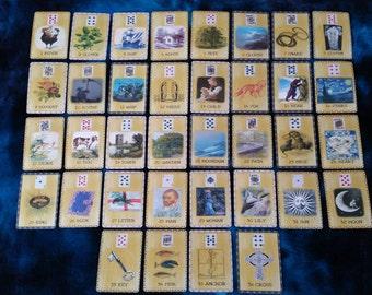 OLDE WORLDE LENORMAND by AlyZen Moonshadow fortune telling cartomancy cards