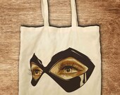 Fabric bag quot masquerade quot nature
