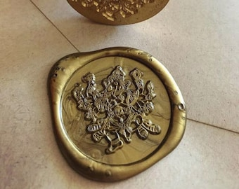Ganesha wax seal stamp /Heypenman crossover with BlackmarketIntl/