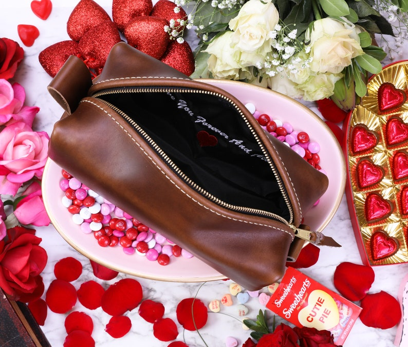 Custom Liner Add-On for Toiletry Bags  Lifetime Leather image 0