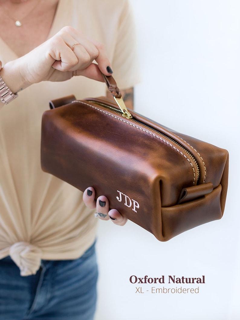 dd8050a0ac5c Monogrammed Dopp Kit Monogram Bag Monogrammed Gifts for Men