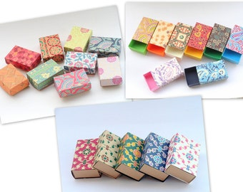 Assorted Gift boxes, Packaging box,wedding favor box, Kraft paper box  -30 assorted printed , Jewelry Packaging Boxes