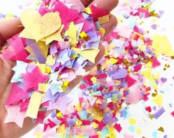 Pastel Confetti/ Confetti Cones/ Confetti Popper/ Confetti Cannon/ Wedding Confetti/ Gender Reveal/ Unicorn Party/ Rainbow Party/ Hen Party
