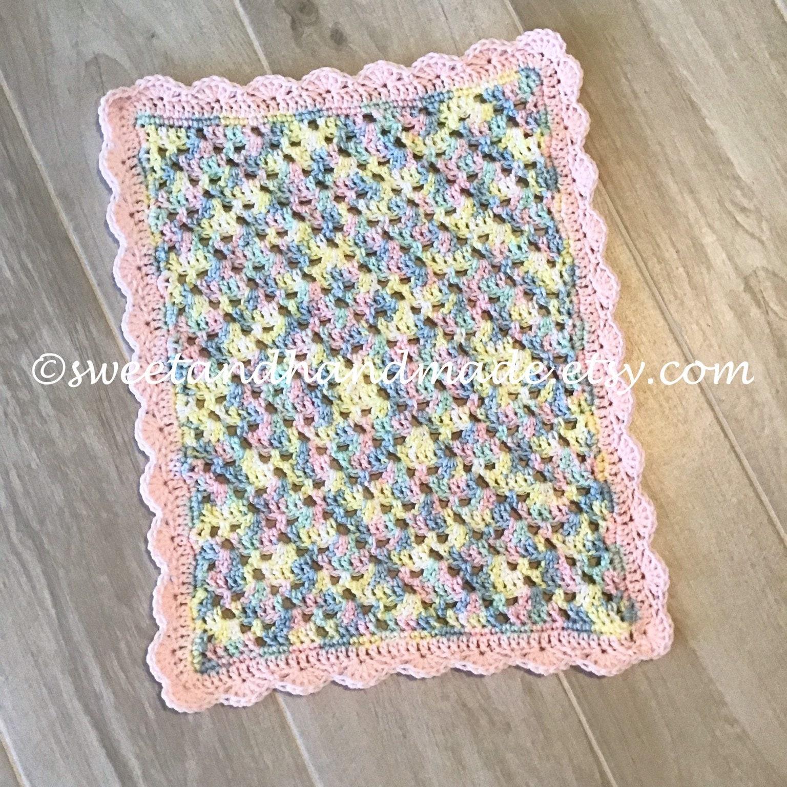 Doll Blanket Crochet Doll Blanket Pink Doll Blanket Handmade Etsy