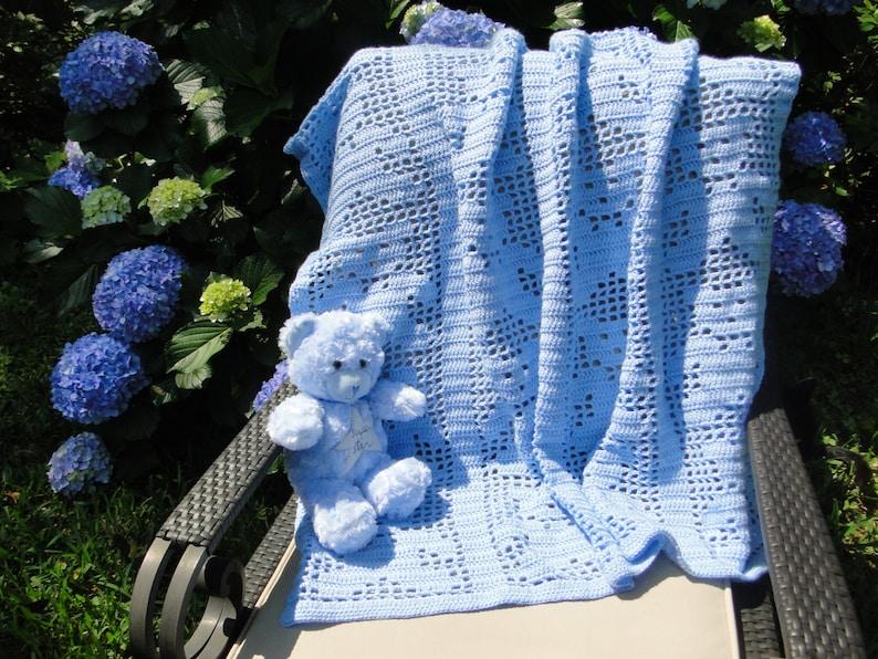 Teddy bear baby blanket - YouTube | 596x794