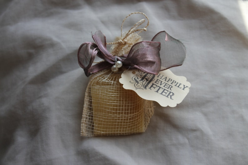 Soap Favors Weddings-Bridal-Baby-Showers-Place Card image 0