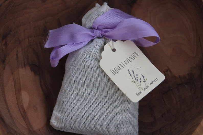 French Lavender Sachets-Favors-Gifts-Home Care Belle Savon image 0